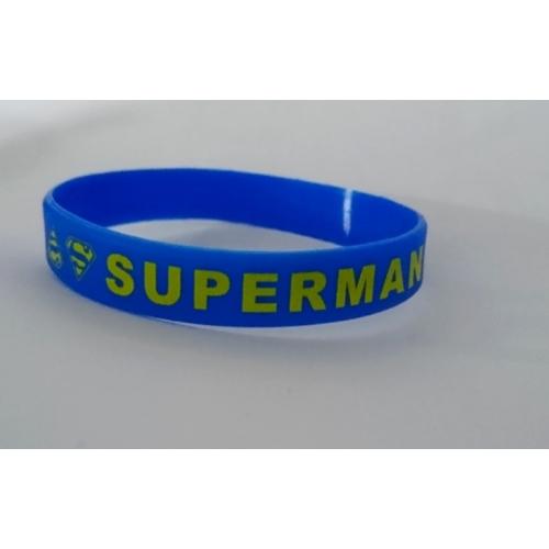 DC SUPERMAN szilikon karkötő