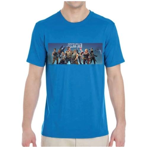 FORTNITE Characters kék póló