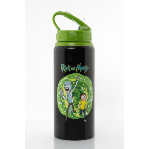 Rick and Morty Portal kulacs fémhatású utazóbögre 700 ml
