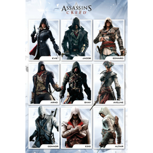 ASSASSIN'S CREED Compilation poszter