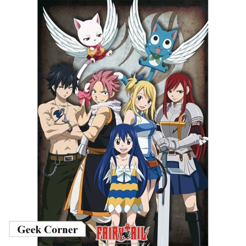 Fairy Tail Group poszter