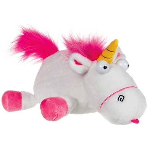 GRU Despicable Me Fluffy Unicorn Hasaló egyszarvú unikornis plüssfigura 25 cm