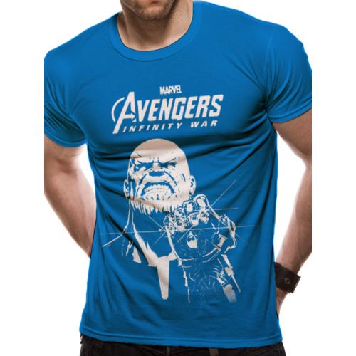 Marvel - The Avengers - A Bosszúállók - Infinity War - Végtelen Háború Thanos póló
