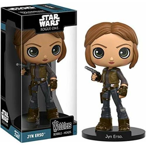 Star Wars - Csillagok Háborúja Jyn Erso bólogatós figura
