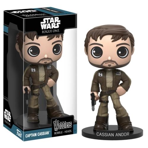 Star Wars - Csillagok Háborúja Captain Cassian Andor Wobblers Bobble-Heads figura