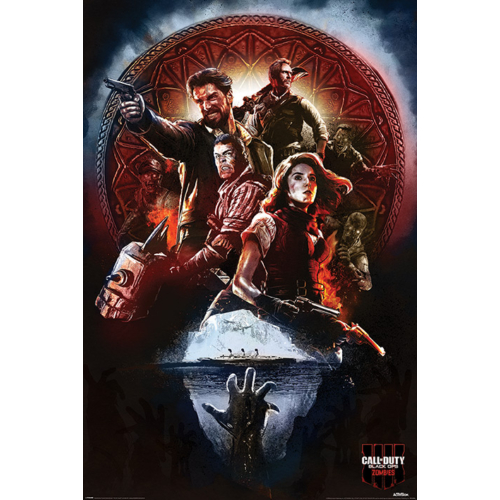 CALL OF DUTY  Black Ops 4 Zombies PP34399 poszter