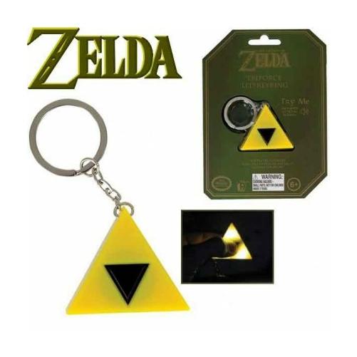 The Legend of Zelda világítós műanyag kulcstartó