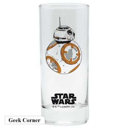Star Wars Csillagok Háborúja BB-8 üvegpohár 290 ml