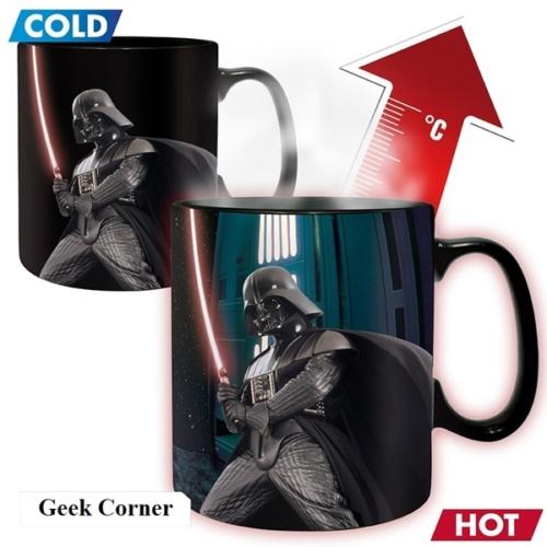 Star Wars Csillagok Háborúja Darth Vader hőre változó bögre 460 ml