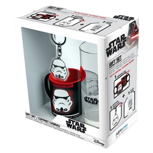 Star Wars - Csillagok Háborúja - Stormtrooper - Rohamosztagos ajándék készlet