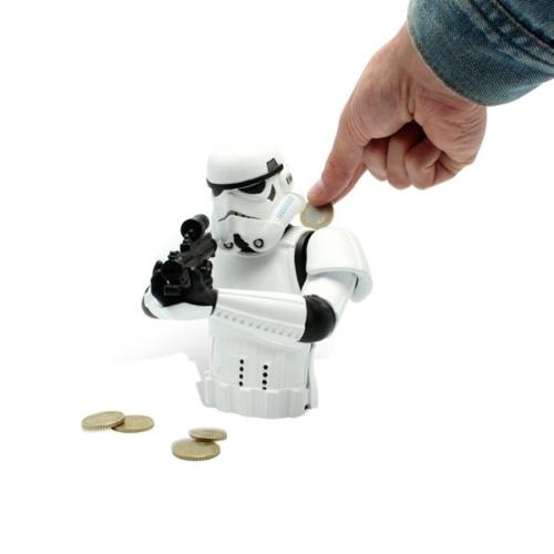 Star Wars - Csillagok Háborúja - Stormtrooper - Rohamosztagos persely