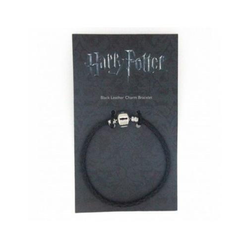 Harry Potter fekete bőr karkötő