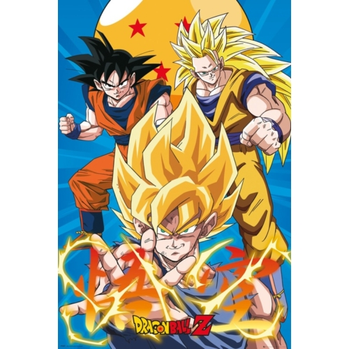 DRAGON BALL Z - Goku Evolution poszter