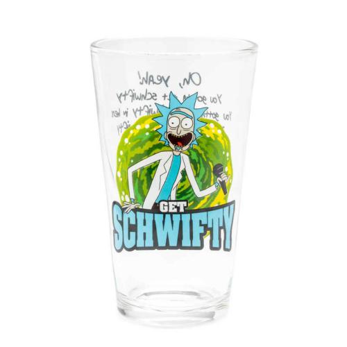 Rick and Morty Get Schwifty üvegpohár 500 ml