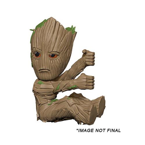 MARVEL Avengers Infinity War Bosszúállók Végtelen háború Groot scalers mini figura 5 cm