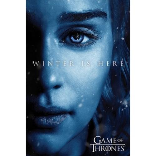 GAME OF THRONES  - Trónok Harca - Winter is Here - Daenerys Targaryen poszter
