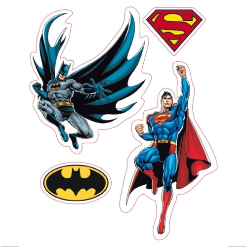 DC Comics Justice League Az Igazság Ligája matrica csomag 16cm x 11cm.