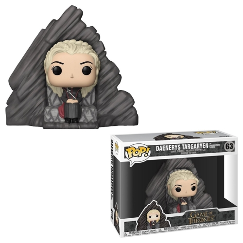 POP! Game of Thrones Trónok harca Daenerys Targaryen on Dragonstone Throne POP figura 15 cm