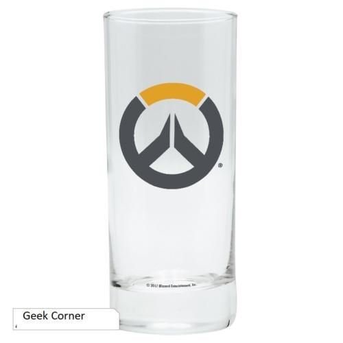 OVERWATCH logo üvegpohár 290 ml