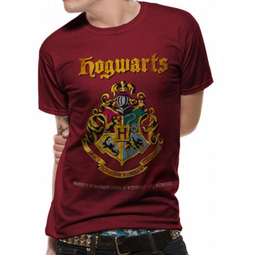 Harry Potter - Hogwarts Xmas Crest póló
