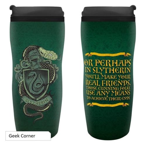 Harry Potter Slytherin Mardekár hővédő utazó bögre 355 ml