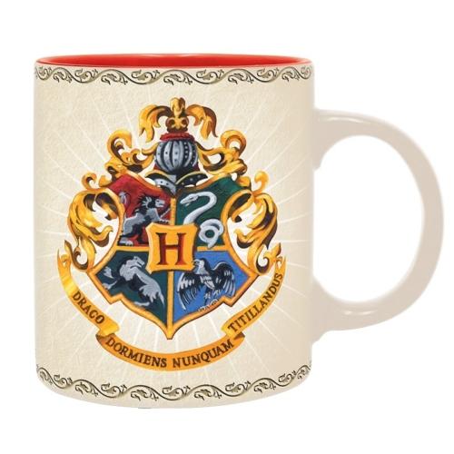 Harry Potter Hogwarts - Roxfort Házak bögre