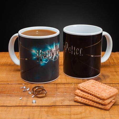 Harry Potter Magic Wand hőre változó bögre