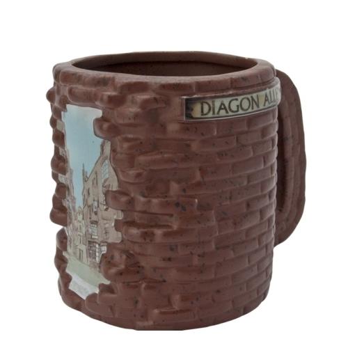HARRY POTTER Diagon Alley Abszol út 3D bögre 500 ml