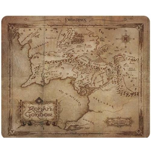 The Lord of the Rings - A Gyűrűk Ura - Rohan és Gondor térkép egérpad