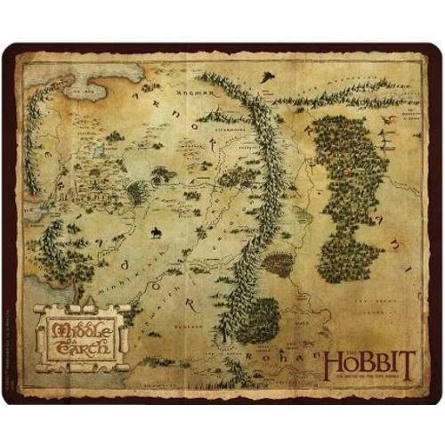 The Hobbit Középfölde térkép egérpad