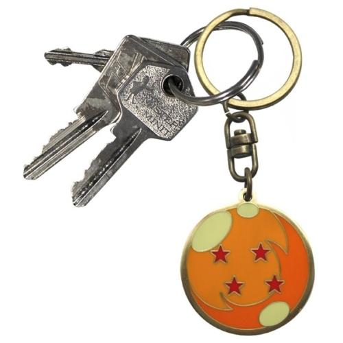 DRAGON BALL Z Kristálygömb - Sárkánygömb fém kulcstartó