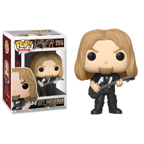 POP! Rocks Slayer Jeff Hanneman Funko Pop figura 9 cm