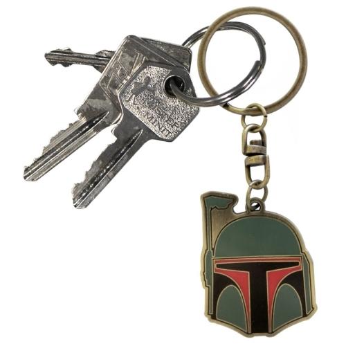Star Wars - Csillagok Háborúja Boba Fett fém kulcstartó