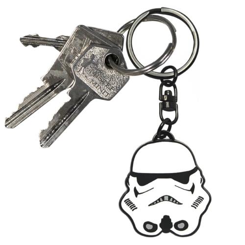 Star Wars - Csillagok Háborúja - Stormtrooper - Rohamosztagos fém kulcstartó