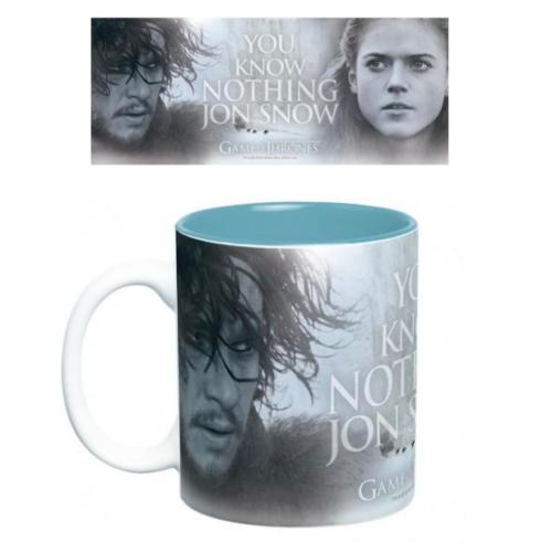 Game of Thrones Trónok Harca You Know Nothing Jon Snow bögre 460 ml