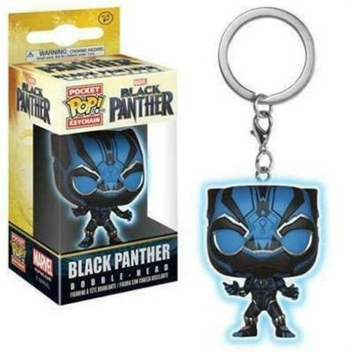 Black Panther - Fekete Párduc Pocket POP kulcstartó figura