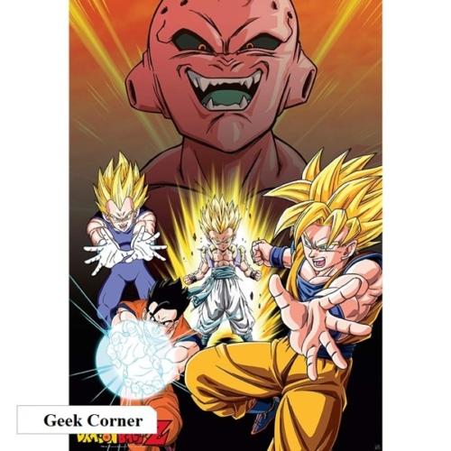 Dragon Ball Z Buu vs Saiyans poszter