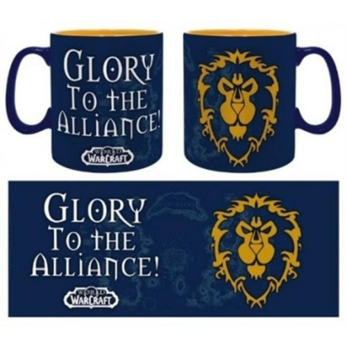 World of Warcraft WoW Alliance bögre 460 ml
