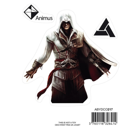 Assassin's Creed Ezio matrica csomag 16cm x 11 cm.