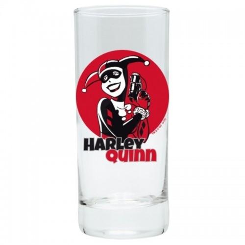 DC Harley Quinn üvegpohár 290 ml