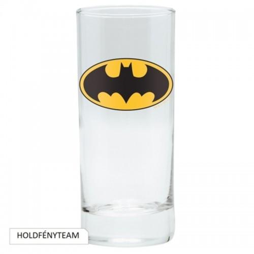 DC BATMAN logo üvegpohár 290 ml