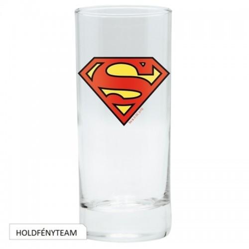 Superman üvegpohár 290 ml