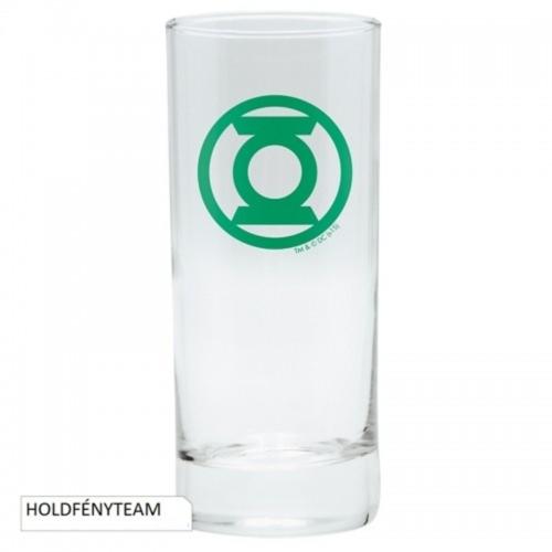 DC Comics Green Lantern  A Zöld Lámpás üvegpohár 290 ml