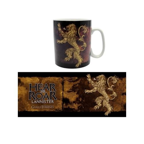 Game of Thrones - Trónok Harca - Lannister Hear me Roar bögre