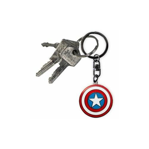 MARVEL Captain America -Amerika kapitány fém kulcstartó