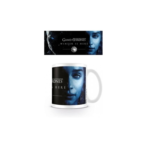 Game of Thrones - Trónok Harca - Winter is here Daenerys bögre