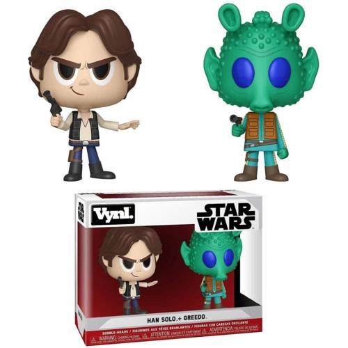 Funko Vynil Star Wars Han Solo+Greedo Csillagok háborúja dupla figura 13 cm