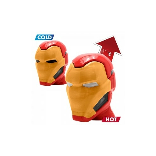 MARVEL Comics Iron Man Vasember 3D bögre 450 ml