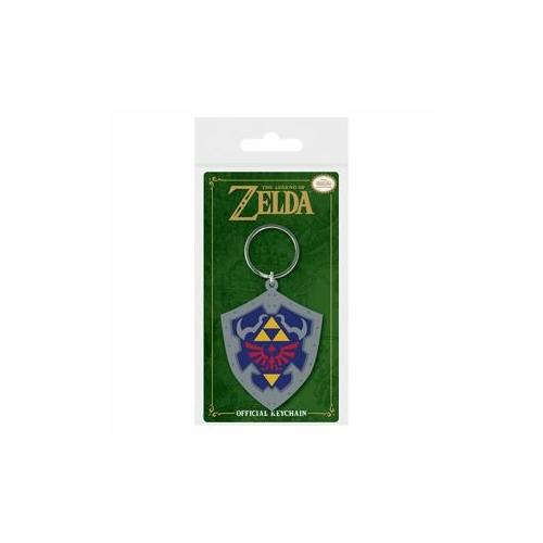 The Legend of Zelda Hylian Shield PVC kulcstartó