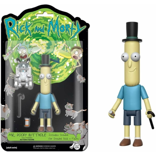Rick and Morty Mr.Poopy Butthole figura